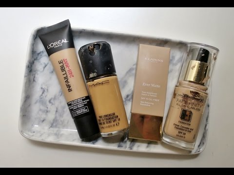 Bases de maquillaje para pieles grasas #2