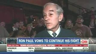 Ron Paul Asked If White House Is Happy On Newt