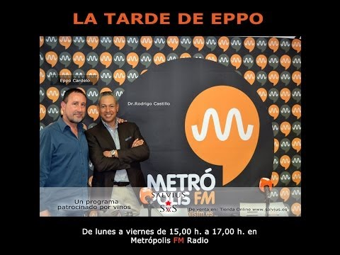 """Entrevista al Dr. Rodrigo Castillo """"La tarde de Eppo"""" - MetrópolisFM"""