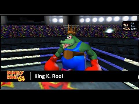 Donkey Kong 64 - King K. Rool Boss Battle