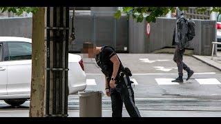 Messerstecherei: Macheten-Mann auf der Flucht