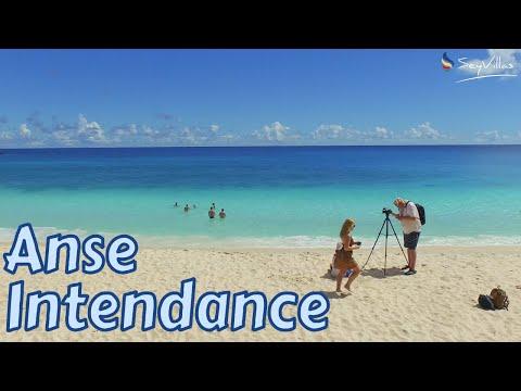 "Strand ""Anse Intendance"" auf Mahé (Seychellen)"
