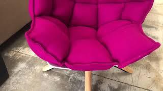 Elvis Armchair with stool