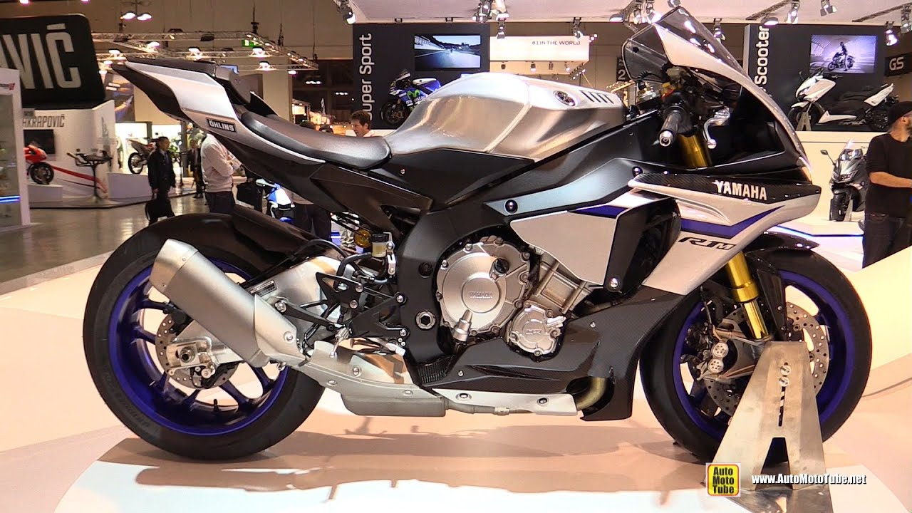 2015 yamaha yzf-r1 m - walkaround - debut at 2014 eicma milan