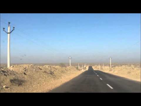 Road to Longewala Border (Time lapse)