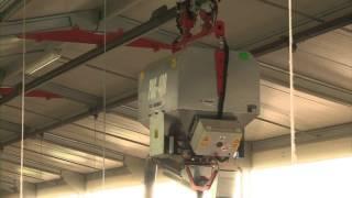 Distributeur aérien pour canards Prêts à Gaver