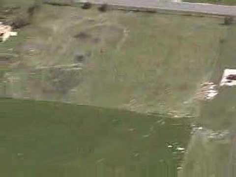 Aerial footage of May 10 Tornado