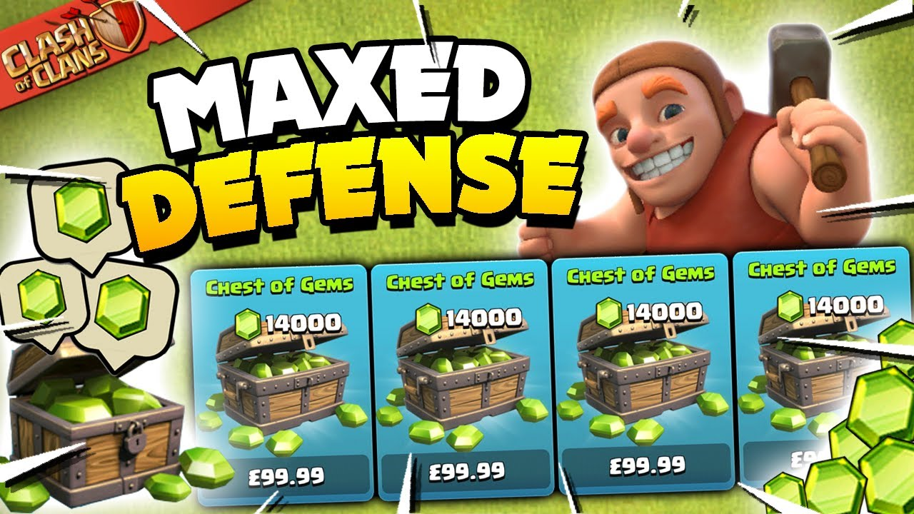 Download I Spent $... to Max My Defenses in Clash of Clans!