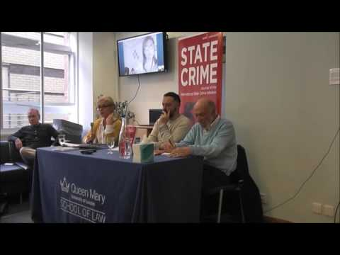 State Crime Journal 'Palestine - Israel' Special Issue Launch - 20th June 2016