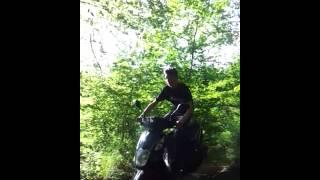 saut en scooter 50cc