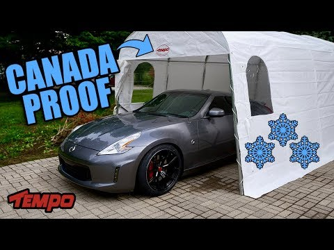 Canadian-Winter Proof Car-Shelter (HEAVY DUTY)