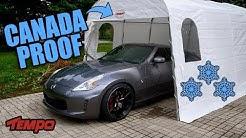 Canadian-Winter Proof Car-Shelter (HEAVY DUTY)