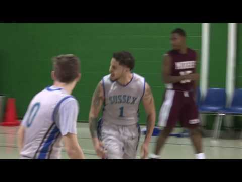 12 22 16 County College of Morris vs Sussex County Community College Mens Basketball