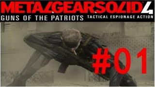 Let's Play Metal Gear Solid 4 Guns of the Patriots #01 - Ein neues Gesicht