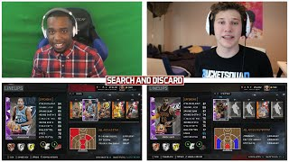 BEST SEARCH AND DISCARD VS CASHNASTY - NBA 2K16