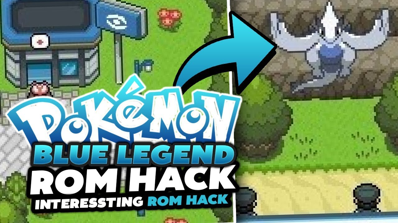 HackRom Pokemon Blue legend Capitulo 8 Final!