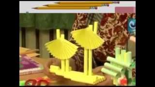 как сделать из бумаги Цветочный букет , узнай как сделать красивый букет из цветов