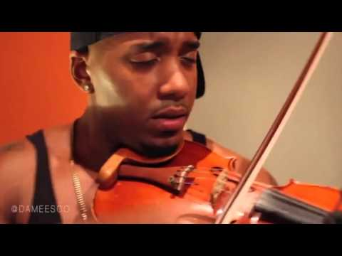 Damien Escobar Hip Hop Violin Freestyle!