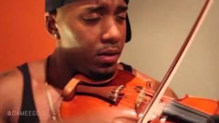 Damien Escobar Hip Hop Violin Freestyle!