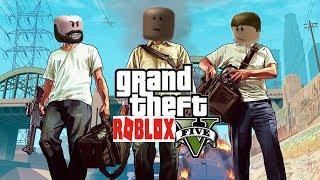Grand Theft Roblox ft. M O S E S