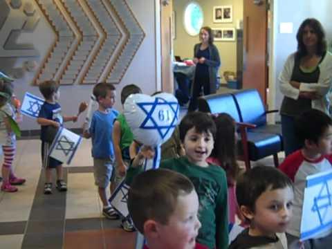 Preschool Celebrates Yom Ha'atzmaot (Israel Independence Day)