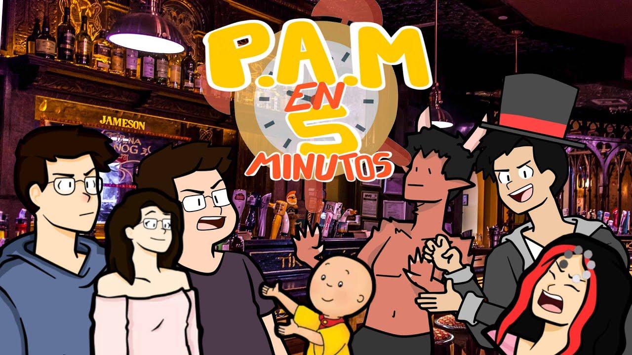 PAM EN 5 MINUTOS / JUAN, BARCA, ROBERTO Y DED ANIMADO