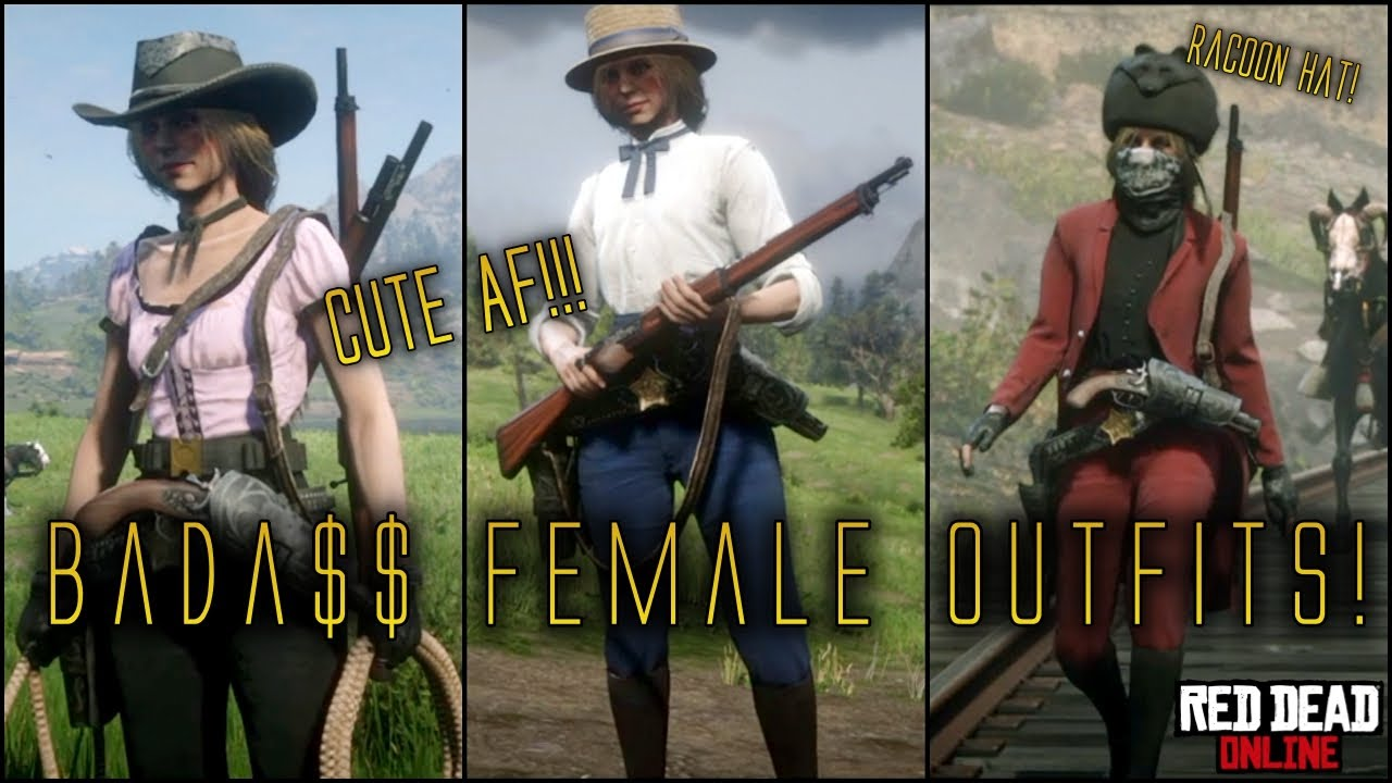 Best Rdr2 Online Female Outfits Rdr2 Online Free Roam Showcase Youtube