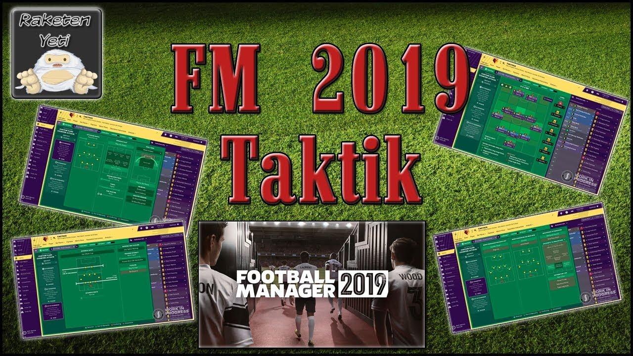 Football Manager 2019 Beste Taktik