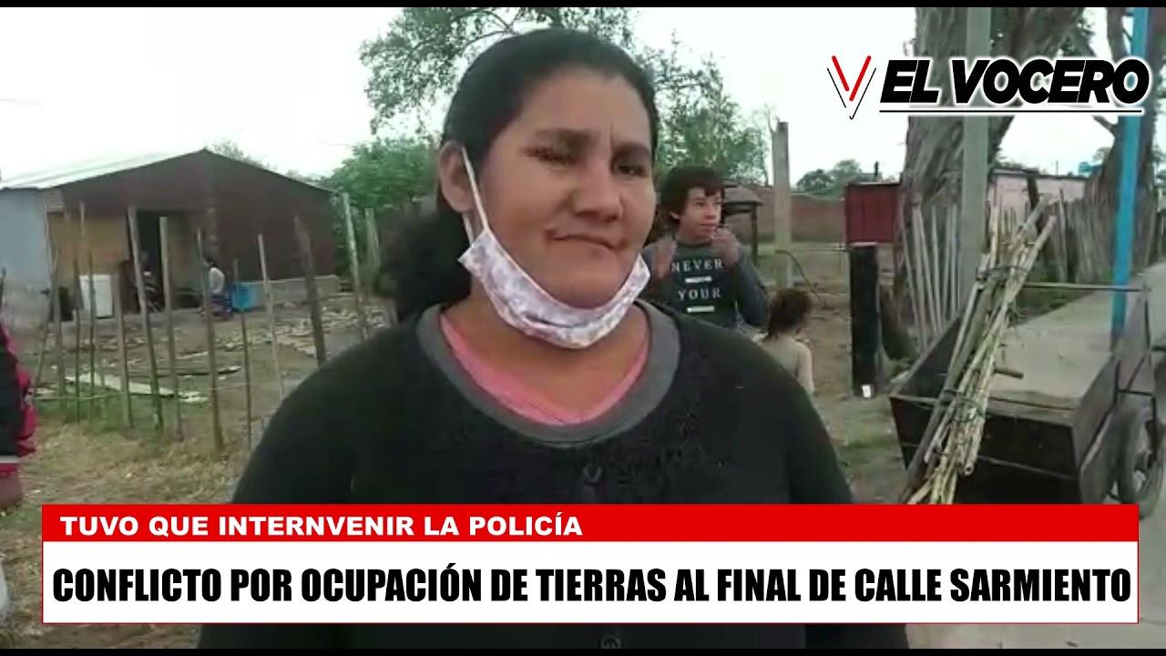 CONFLICTOPOR OCUPACIÓN DE TIERRAS EN METÁN