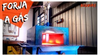 FORJA A GÁS - Gas Forge