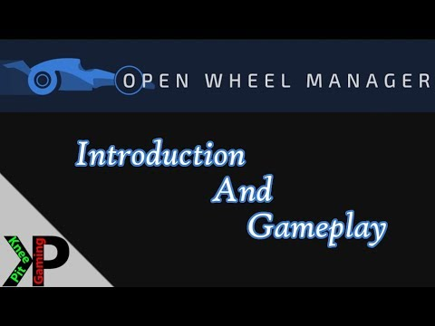 Open Wheel Manager - Introduction and Gameplay