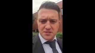 Tommy Robinson DESTROYS A White Muslim Convert