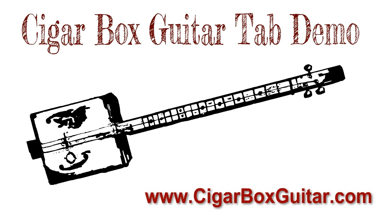 Boogie in G - 3-string Open G GDG - Cigar Box Guitar Tablature
