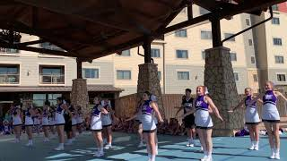 2019 uca cheer camp rally routine