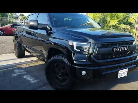 2010 Toyota Tundra Rock Warrrior To 2017 TRD Pro front end Conversion