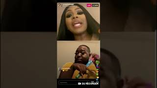 Yung Miami and Santana drag each other on IG live again!