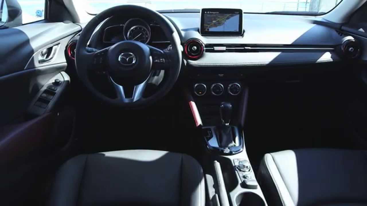 Der Neue Mazda Cx 3 Sneak Peek 2015 Interieur Design