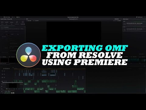 Blackmagic Forum • View topic - Feature Request: OMF Export