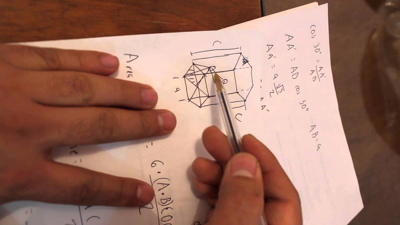 Calculo Del Factor De Empaquetamiento De Celda Hexagonal Parte 2