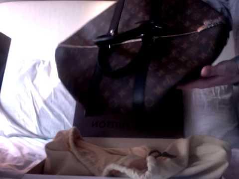b130f9dde My New Louis Vuitton Monogram Macassar Keepall 45 - YouTube
