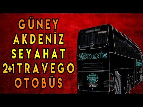 Güney Akdeniz Seyahat Otobüsleri | 2+1 travego İncelemesi