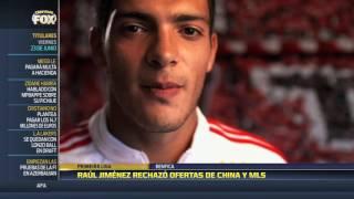 Jiménez rechazó a la Liga China y la MLS