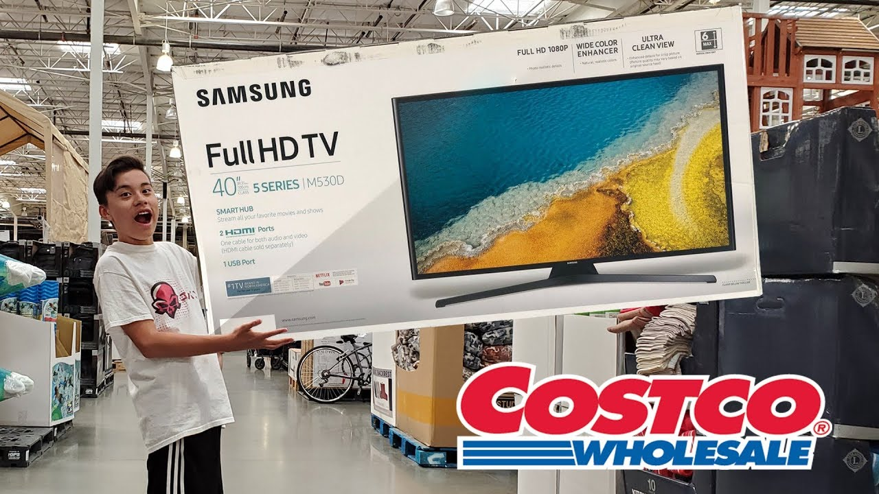 ILL BUY WHATEVER YOU CAN CARRY CHALLENGE!!! Costco Got Mad at Us!