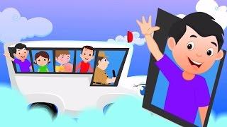 Rodas no ônibus | Rima de berçário | Canção de bebê | Bus Song | Children Rhyme | Wheels On The Bus