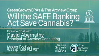 Will the SAFE Banking Act Save Cannabis? – with David Abernathy from Arcview Management Consulting