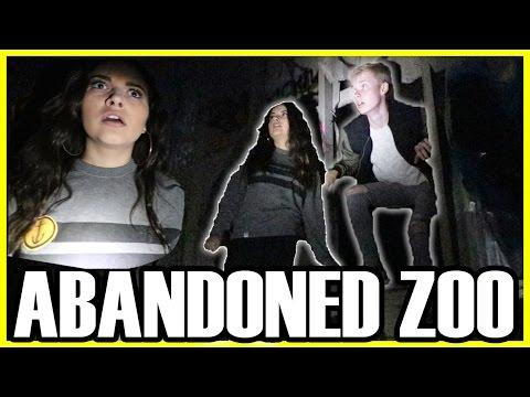 EXPLORING AN ABANDONED ZOO (w/ MY GIRLFRIEND)