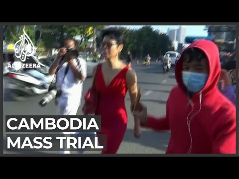Cambodia resumes mass trial of government opponents