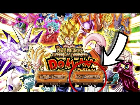 HOW TO GET SUMMONING TICKETS! DRAGONBALL Z DOKKAN BATTLE! GLOBAL