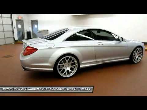 2011 Mercedes-Benz CL-Class Duluth GA P33208B - YouTube
