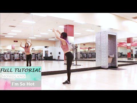 MOMOLAND (모모랜드) _ I'm So Hot _ Cindy Gu Full Dance Tutorial